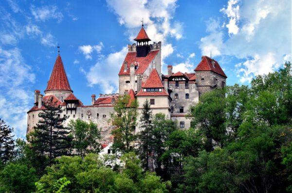Bran Castle from Transylvania, Romania, seen in escorted tours in Romania