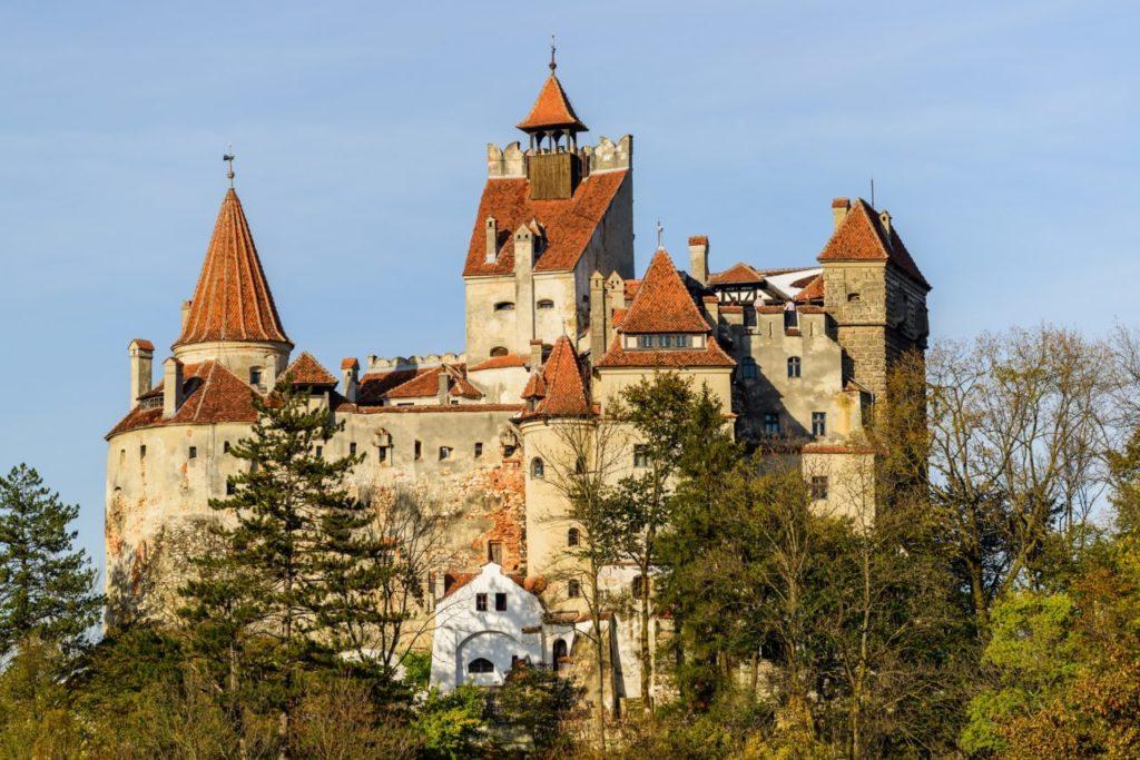 Bran Castle seen in escorted tours to Transylvania Romania