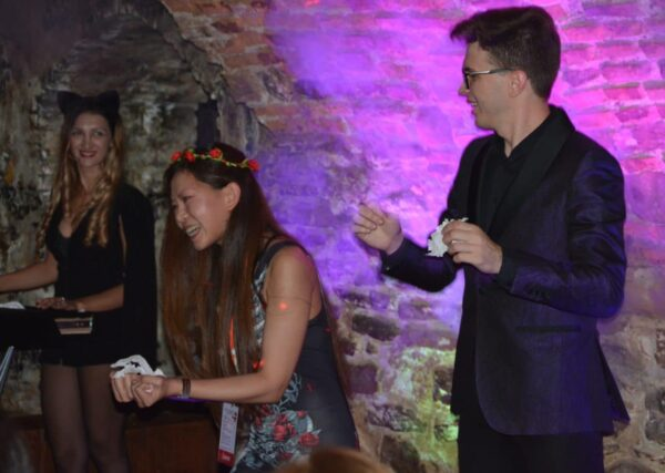 Magicians Show at the best Halloween party in Transylvania, Sighisoara Citadel- Transylvania short break, Bran Castle Halloween Party Tickets