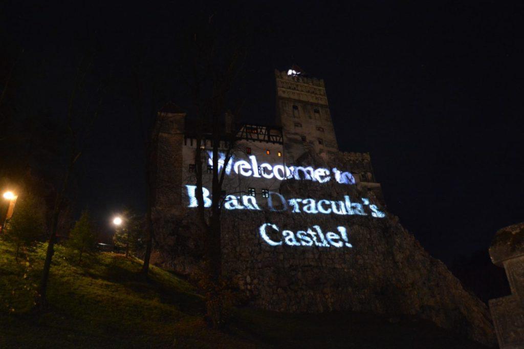 Bran castle Halloween party-escorted tours to Transylvania