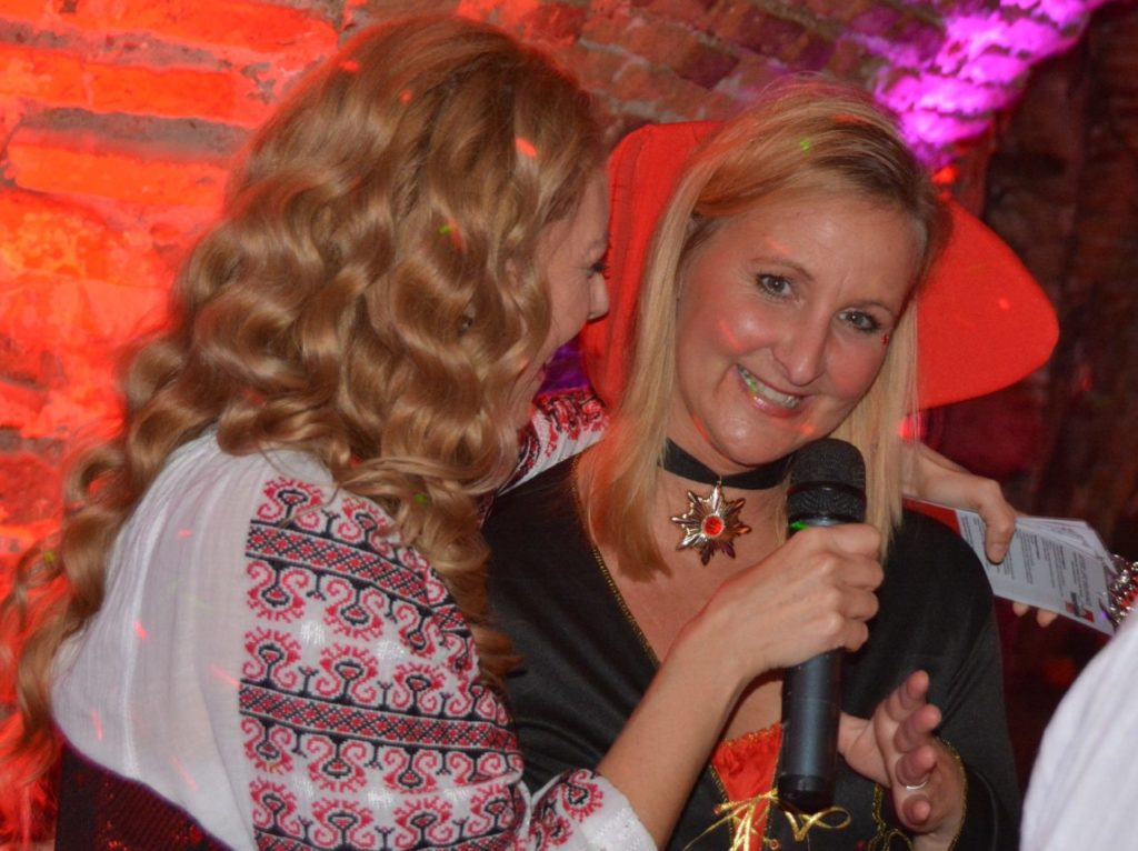 the best Halloween party in Sighisoara