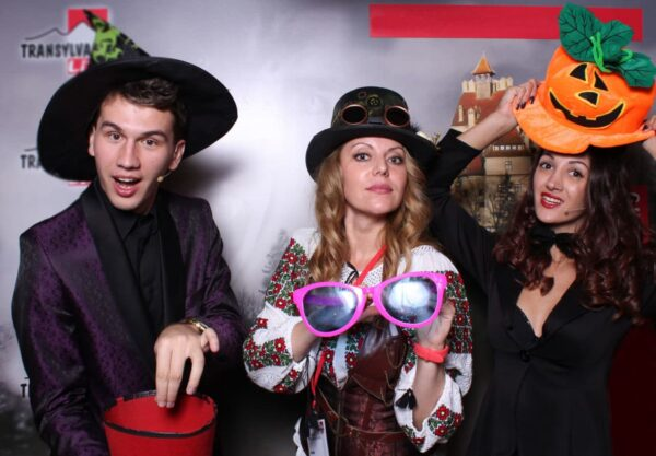 Magicians show at the best Halloween party in Transylvania-Sighisoara Halloween party, Halloween in Transylvania