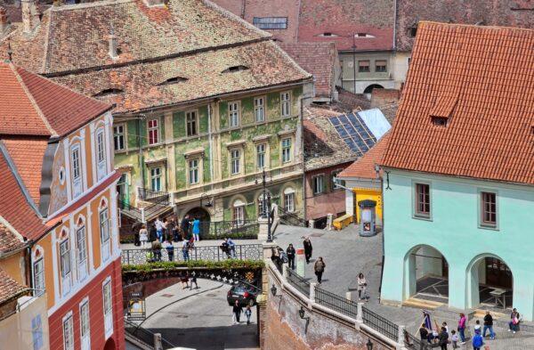 Liar's bridge Sibiu Bran Castle seen in Transylvania skiing - Romania ski holidays for families-the best ski courses in Europe