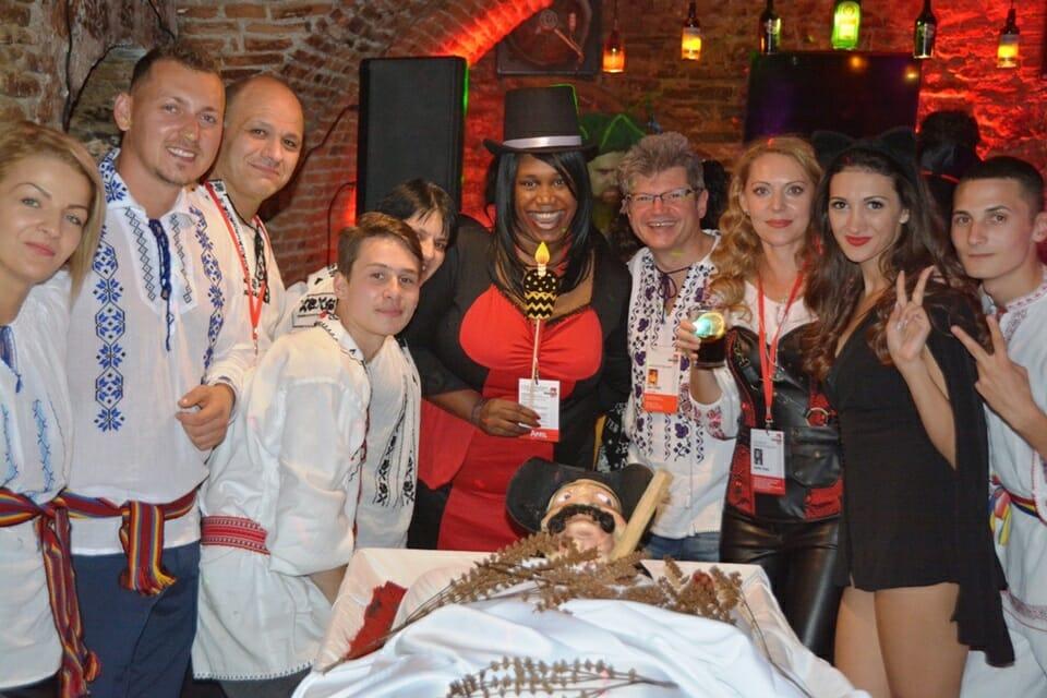 Dracula tour on Halloween-tours-to-transylvania-party-sighisoara