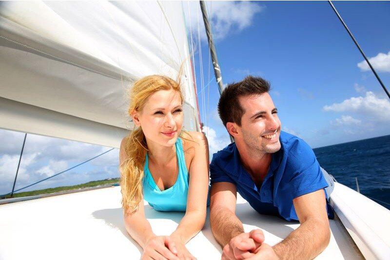 romantic sailing cruise